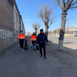 Субботник в Красноярске