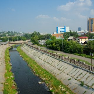 На 9 участках красноярских дорог появятся водоотводы